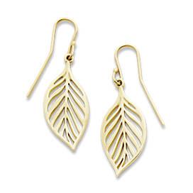 Open Leaf Ear Hooks