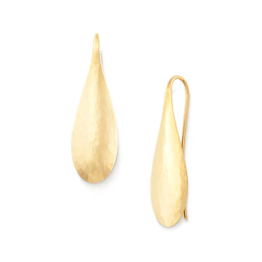 View Larger Image of Domed Teardrop Ear Hooks