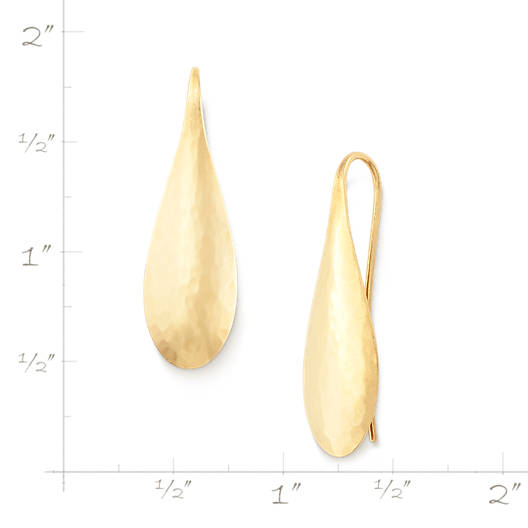 View Larger Image of Domed Teardrop Ear Hooks