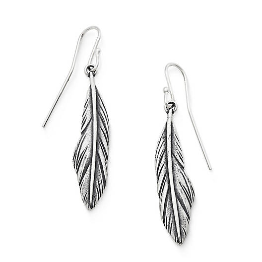View Larger Image of Feather Ear Hooks