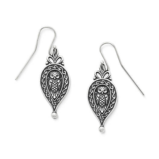 View Larger Image of Paisley Owl Ear Hooks