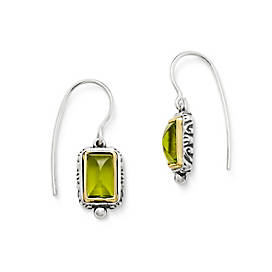 Graciela Ear Hooks with Peridot
