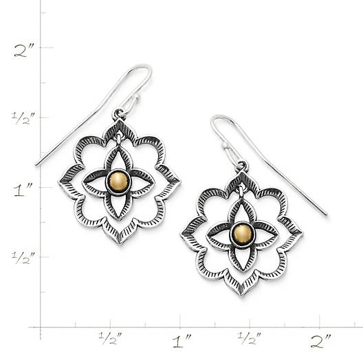 View Larger Image of Bella Rosa Ear Hooks
