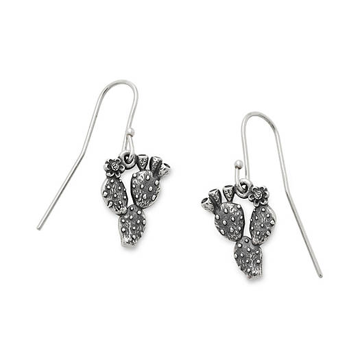Prickly Pear Cactus Ear Hooks