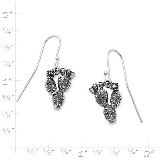 View Larger Image of Prickly Pear Cactus Ear Hooks