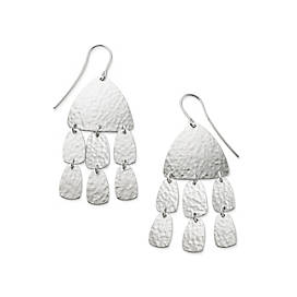 Shimmering Elements Ear Hooks