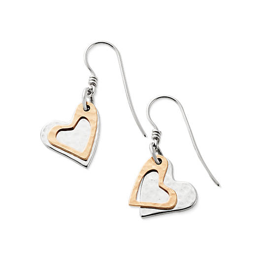 Fearless Heart Ear Hooks