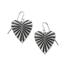 Ava Heart Ear Hooks