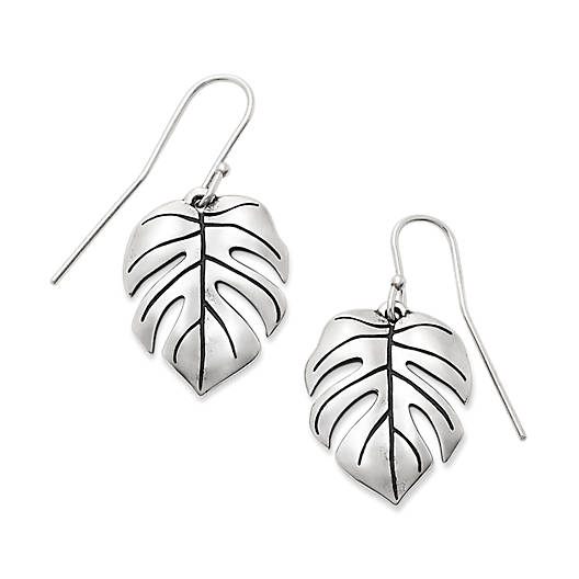 Monstera Leaf Ear Hooks