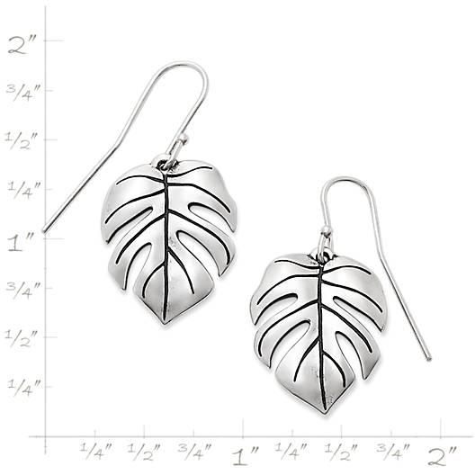 View Larger Image of Monstera Leaf Ear Hooks