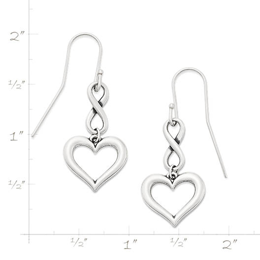 View Larger Image of Infinite Love Ear Hooks