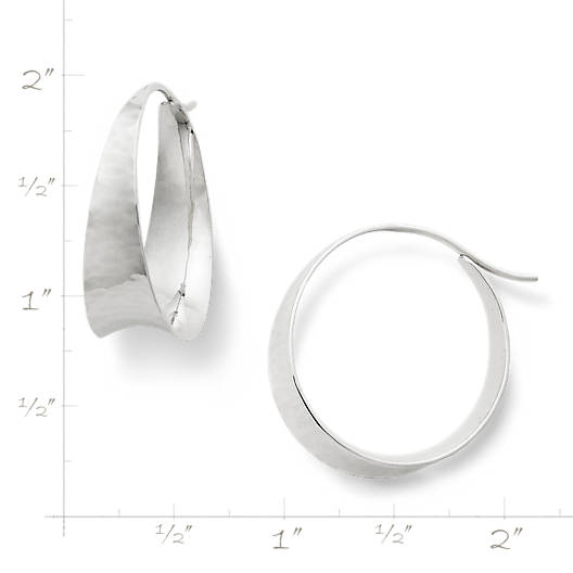 View Larger Image of Valle Ear Hoops