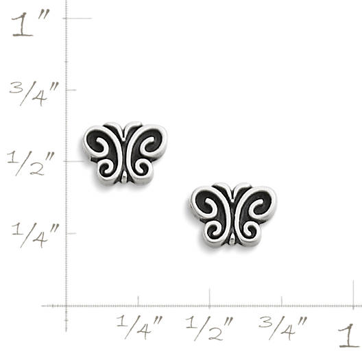 View Larger Image of Garden Butterfly Ear Posts
