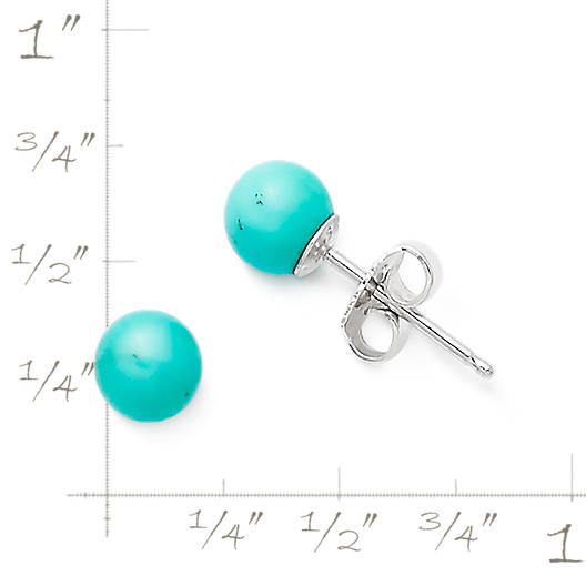 View Larger Image of Turquoise Ear Posts