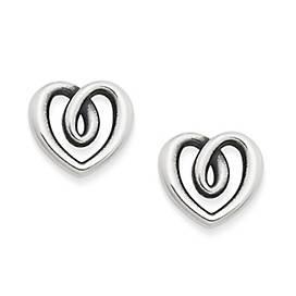 Heart Strings Ear Posts