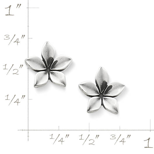 View Larger Image of Dainty Flower Ear Posts