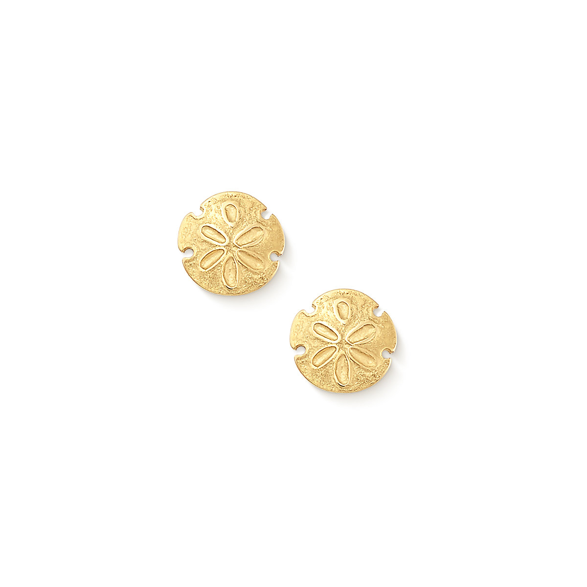 Home Earrings Sand Dollar Ear Posts Previous