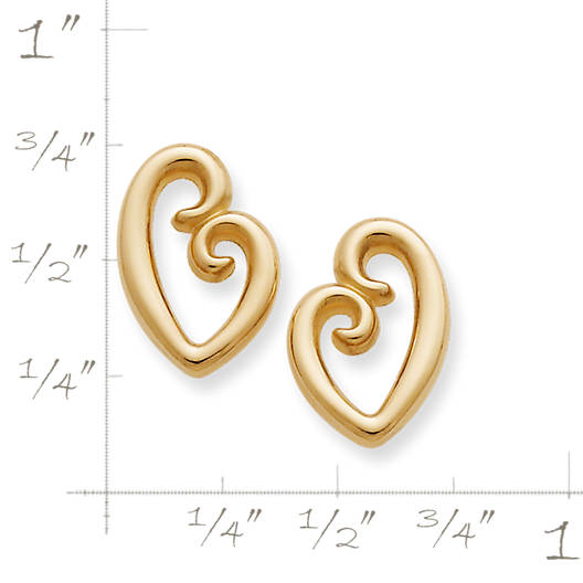 View Larger Image of Mother's Love Ear Posts