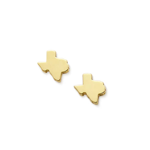 View Larger Image of Tiny Texas Ear Posts