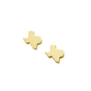f7c78781e6db4 Tiny Texas Ear Posts - James Avery