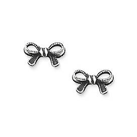 Petite Vintage Bow Ear Posts