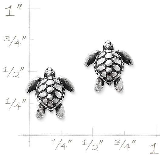 View Larger Image of Sea Turtle Ear Posts