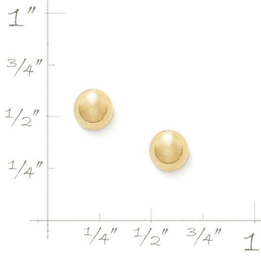 View Larger Image of Small Stud Ear Posts, 5mm