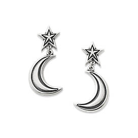 Starry Night Drop Ear Posts