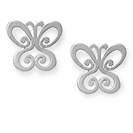 Spring Butterfly Ear Posts