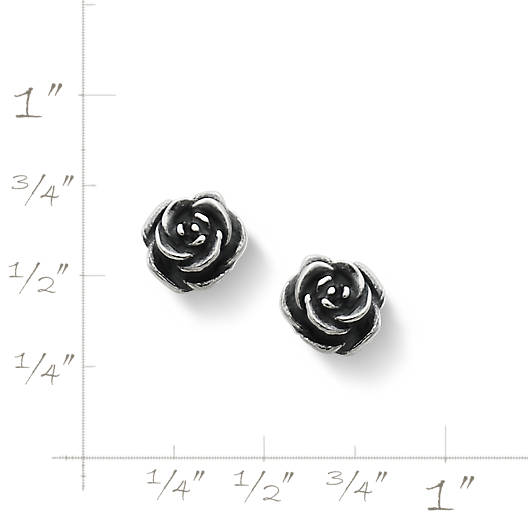 View Larger Image of Rose Ear Posts