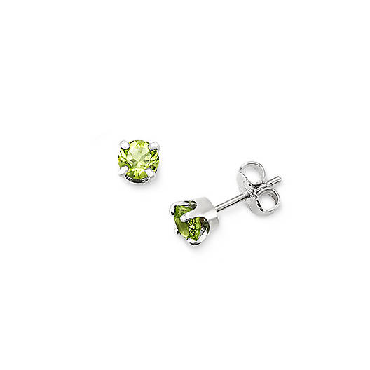 View Larger Image of Peridot Gemstone Ear Posts