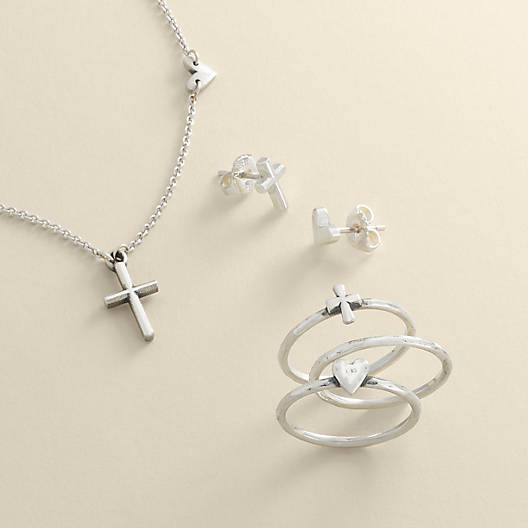 View Larger Image of Faith and Love Necklace
