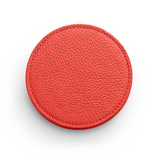 View Larger Image of Pebble Leather Round Coaster Set
