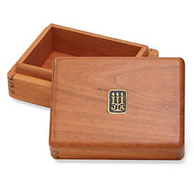 Legacy Rectangular Wood Box