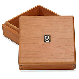 Legacy Medium Square Wood Box