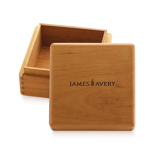 View Larger Image of Medium Square Wood Box