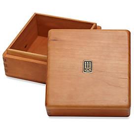 Legacy Large Square Wood Box