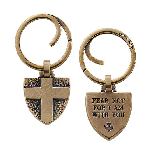 "View Larger Image of ""Fear Not..."" Key Chain"