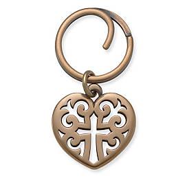 Regal Heart Key Chain