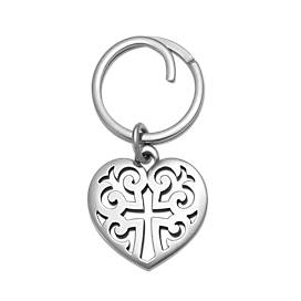 Regal Heart Key Chain