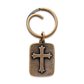 Fleuree Cross Key Chain