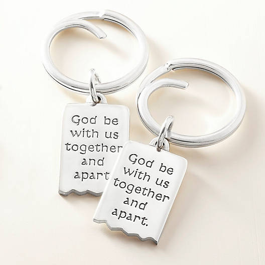 View Larger Image of Mizpah Key Chain Set