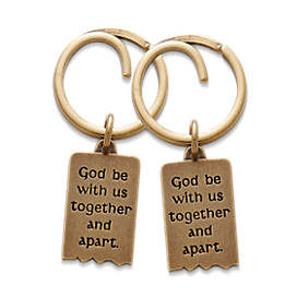Mizpah Key Chain Set