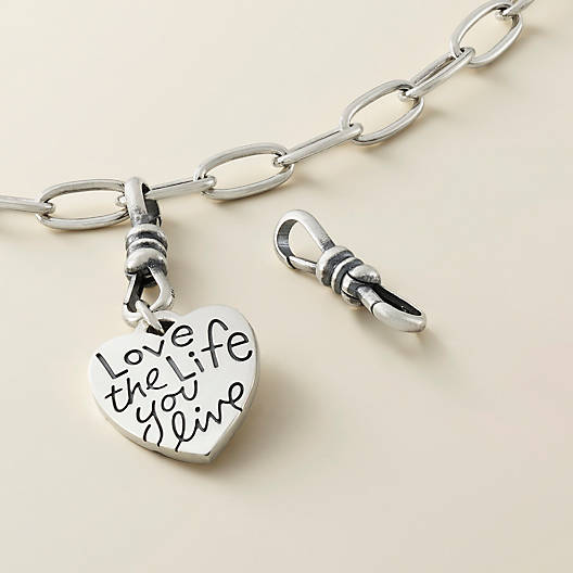 View Larger Image of Double Sided Changeable Charm Holder Fob