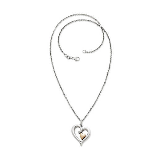 View Larger Image of Joy of My Heart Small Pendant on Light Cable Chain