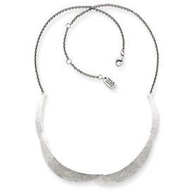Floating Crescents Necklace