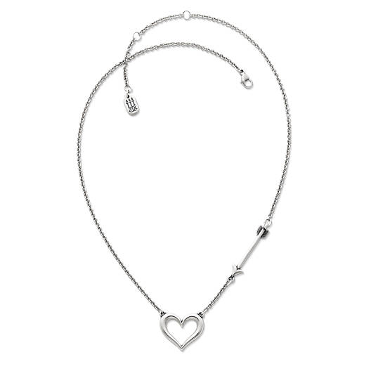 View Larger Image of Love Struck Heart Necklace