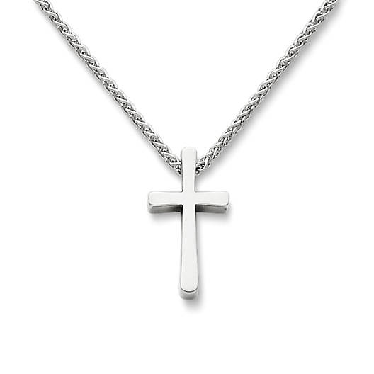 Petite Latin Cross Necklace