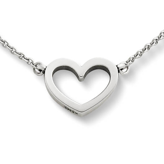 View Larger Image of Petite Heart Necklace