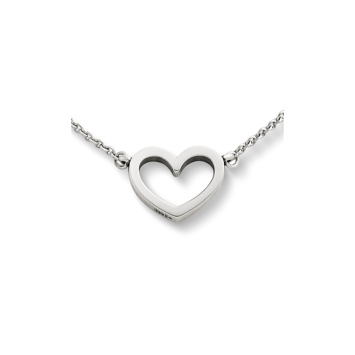 Silver necklaces pendant necklaces james avery petite heart necklace aloadofball Choice Image